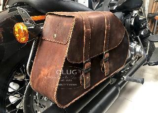 Review những mẫu túi da treo hông xe máy và áo giáp bình xăng đẹp xuất sắc tại TPHCM